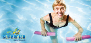 Superfish Aqua Aerobics Header
