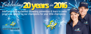 Superfish Swim Schools celebrating 20 years!