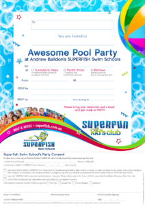 Superfish party invites 2019