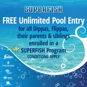 Superfish FREE Swimming Dippas Flippas Family