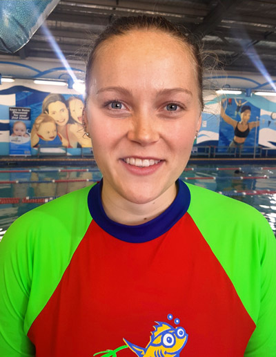 Superfish Swim Schools Team Member Ursula