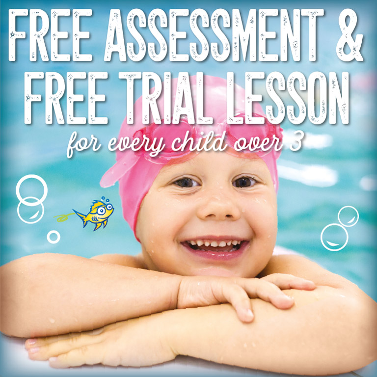 FREE Assessment & Free Trial Swimming Lesson for children over 3