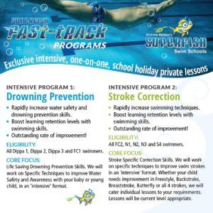 Superfish Fast Track Intensive Programs