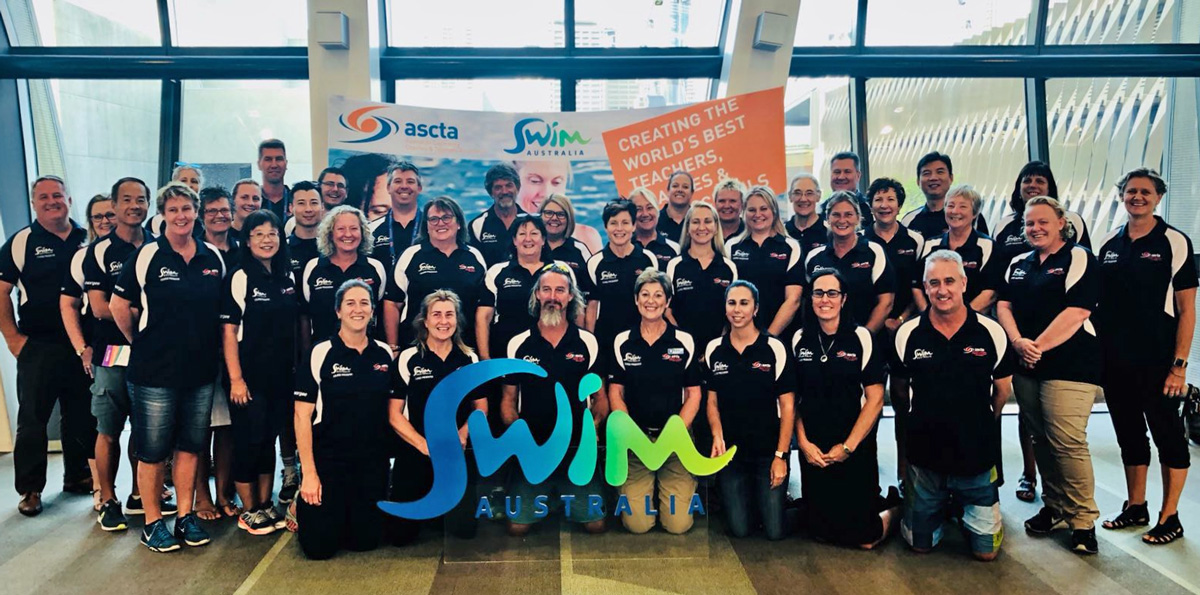 SwimAustralia asctaCONVENTION Team Photo 2018