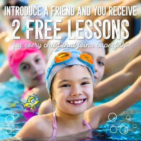 Superfish Swim Schools Introduce A Friend Promotion