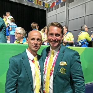 Olympians Andrew Baildon and Steve Moneghetti at GC2018_900px