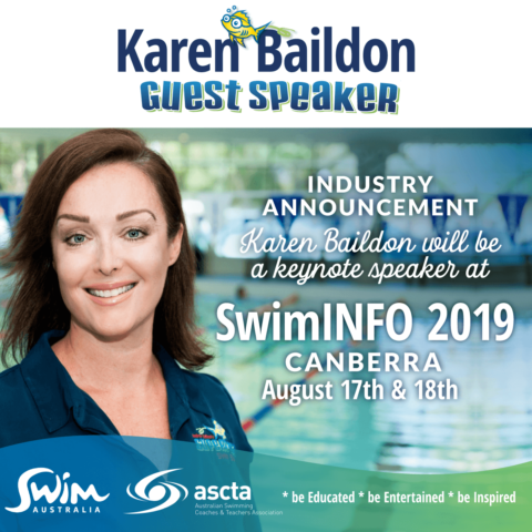 Superfish SwimAustralia SwimINFO Keynote Speaker Karen Baildon, Superfish Swim Schools, Canberra 2019