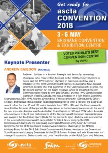 ASCTAConvention 2018 Keynote Speaker Andrew Baildon