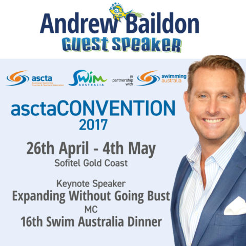 asctaCONVENTION 2017 keynote speaker and awards host Andrew Baildon at Sofitel Broadbeach Gold Coast