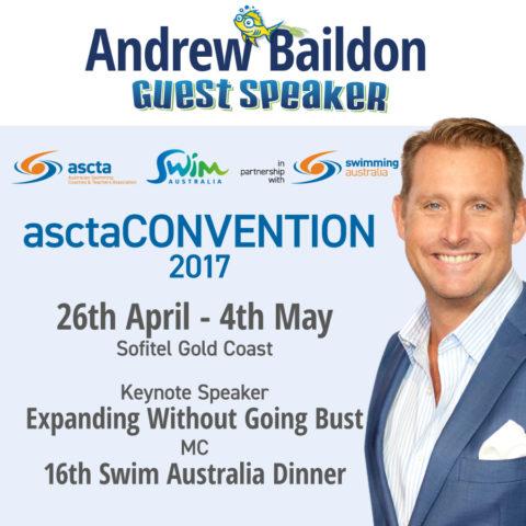 asctaCONVENTION 2017 keynote speaker and awards host Andrew Baildon at Sofitel Broadbeach Gold Coast