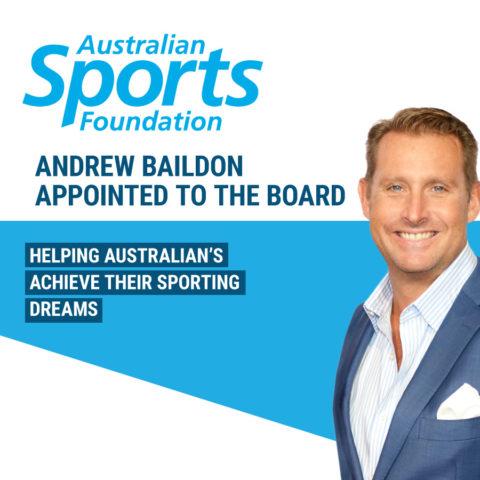 Australian Sports Foundation Andrew Baildon Board Member