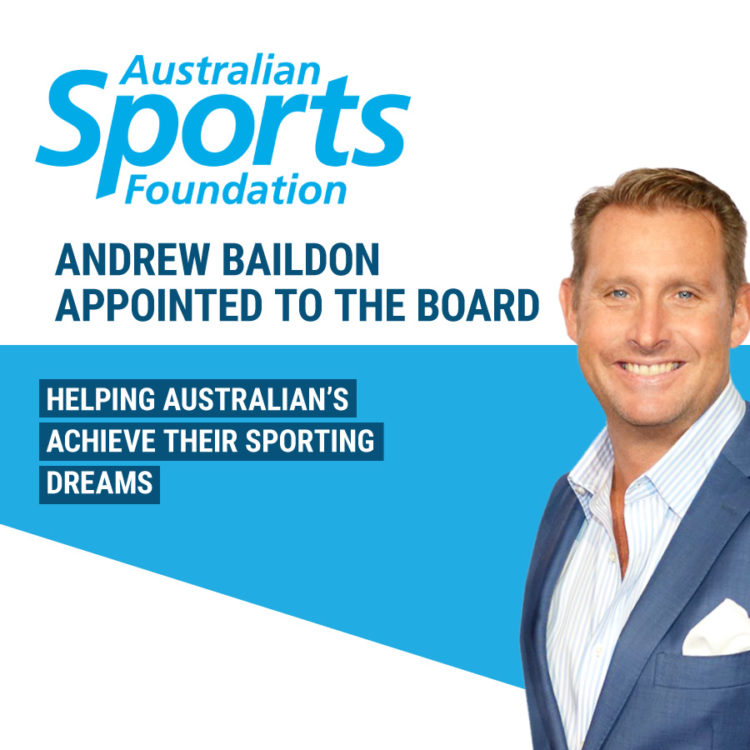 Australian Sports Foundation Andrew Baildon Board Member