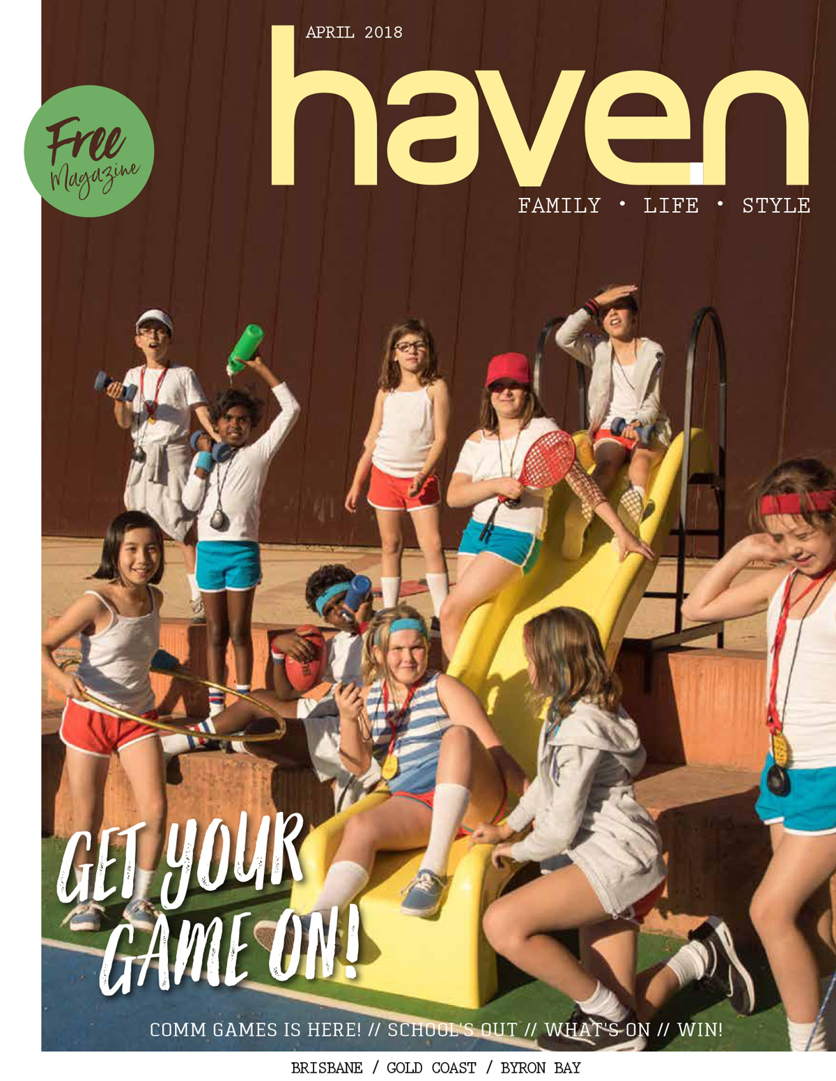 Haven Magazine Cover Page Issue 81