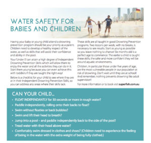 Superfish Feature Get It Magazine April 2018 Water Safety