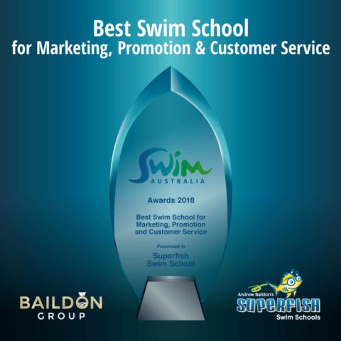 Superfish asctaCONVENTION 2018 Best Swim School