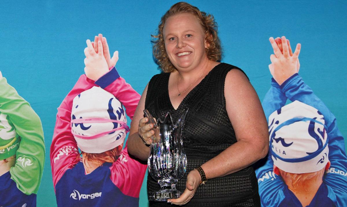 ascta swim teacher of the year Superfish Kerryn Harber