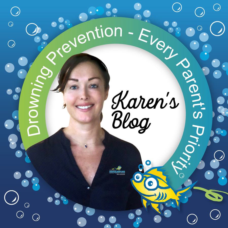 Drowing Prevention - Every Parent's Priority blog by Karen Baildon
