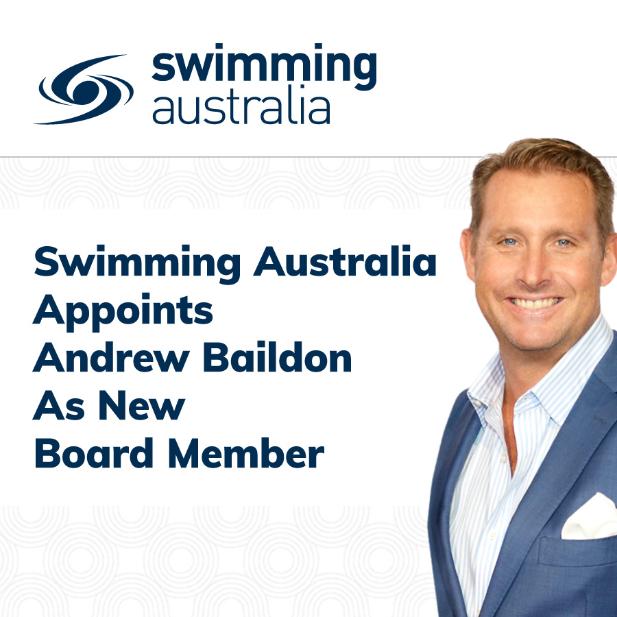 Swimming Australia Board Member Andrew Baildon