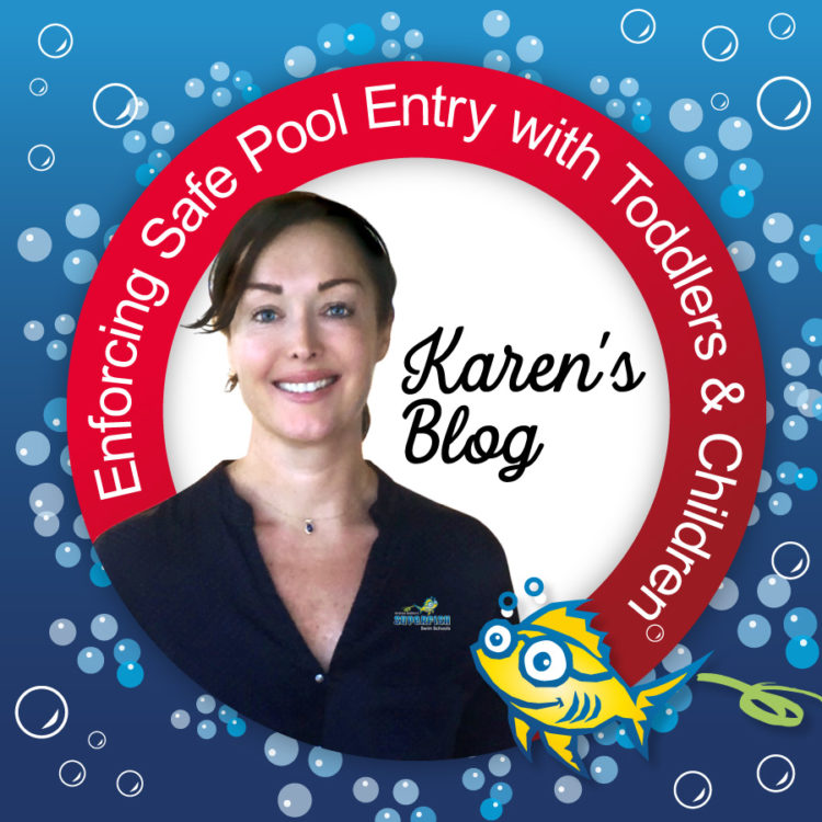 Enforcing Safe Pool Entry with Toddlers and Children