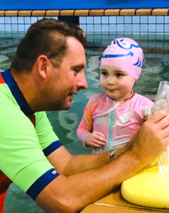 Andrew Baildon Teaching at Superfish Swim Schools